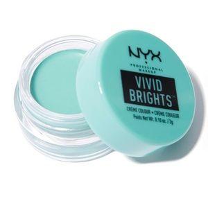 Nyx Vivid Brights Aqua Sapphire Eyeshadow